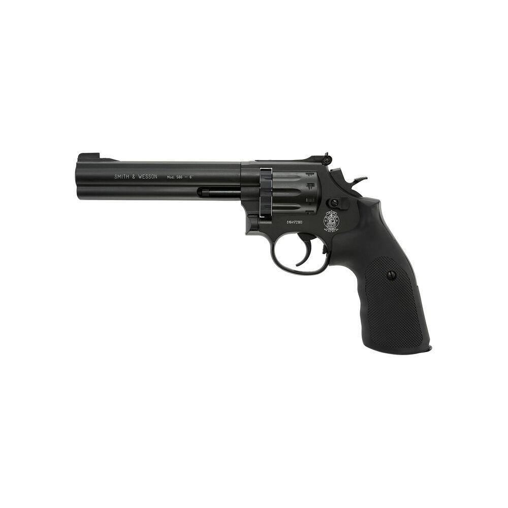 S&W 586 Revolver .177 Cal 10RD CO2 6 inch barrel [Pellet Gun Air Pistol]