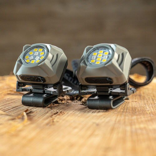 Night Guard Quad Beam Rechargeable Headlamp