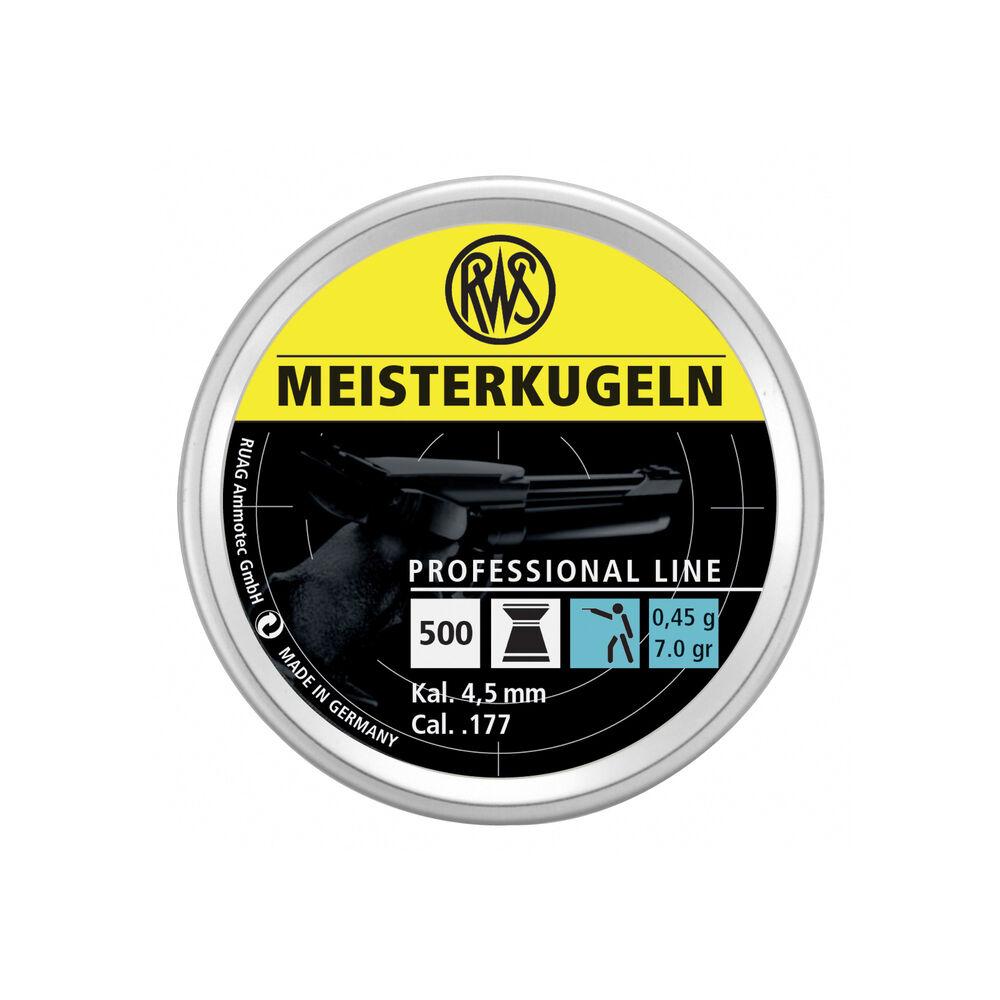 RWS - Meisterkugeln PISTOL - Professional Line
