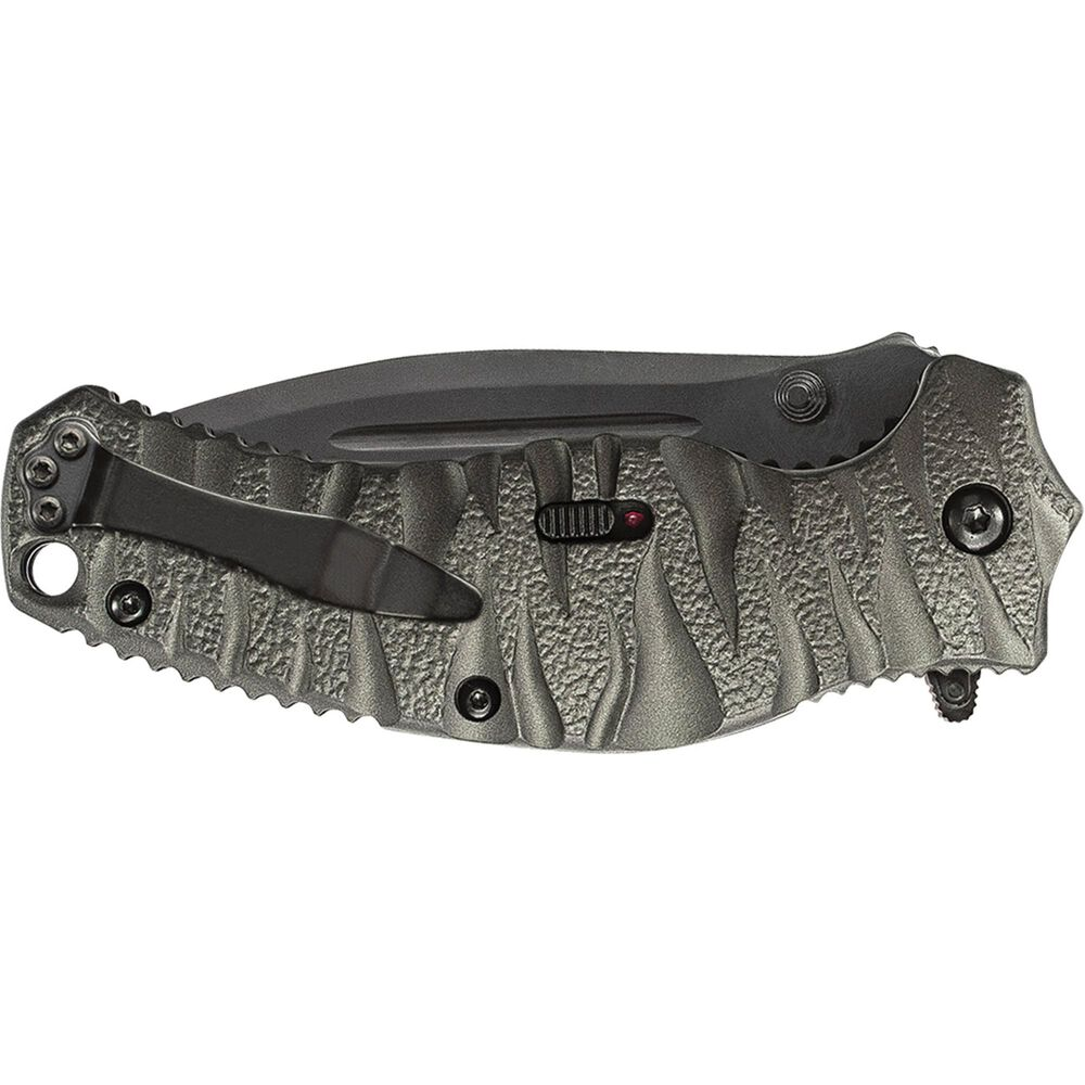 Smith & Wesson® SWBLOP4BS Black Ops M.A.G.I.C.® Assisted Opening Drop Point Folding Knife