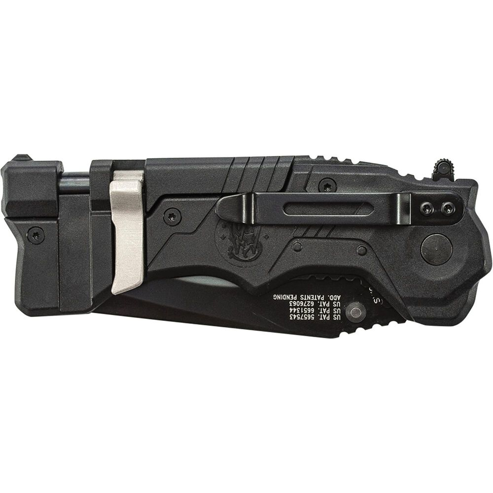 Smith & Wesson® SW911B 1st Response M.A.G.I.C.® Assisted Opening Liner Lock Folding Knife & Rescue Tool
