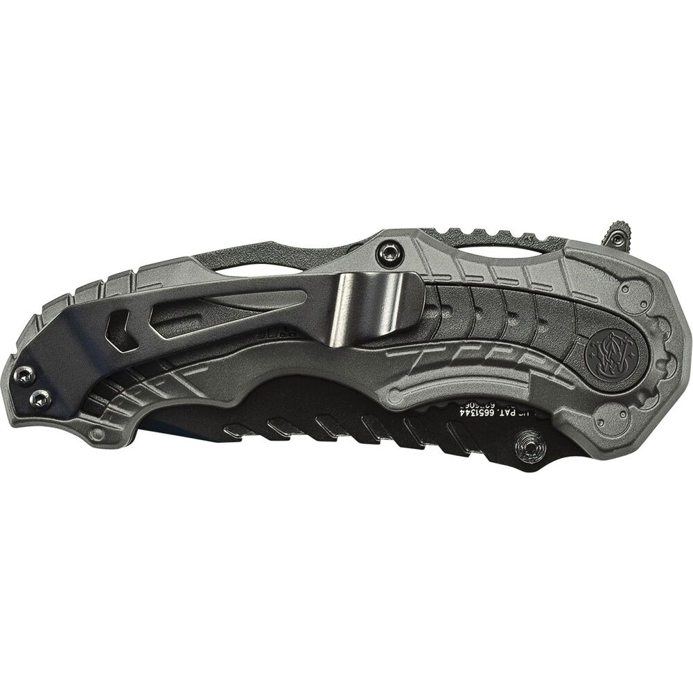 Smith & Wesson® M&P® SWMP6S M.A.G.I.C.® Assisted Opening Clip Point Folding Knife