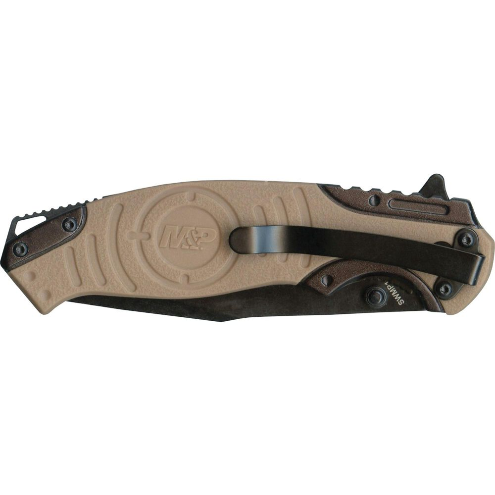 Smith & Wesson® M&P® SWMP13GLS Drop Point Folding Knife