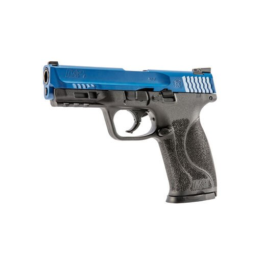 T4E S&W M&P9 M2.0 LE Blue/Black .43 Cal 8RD CO2 [Paintball Training Pistol]