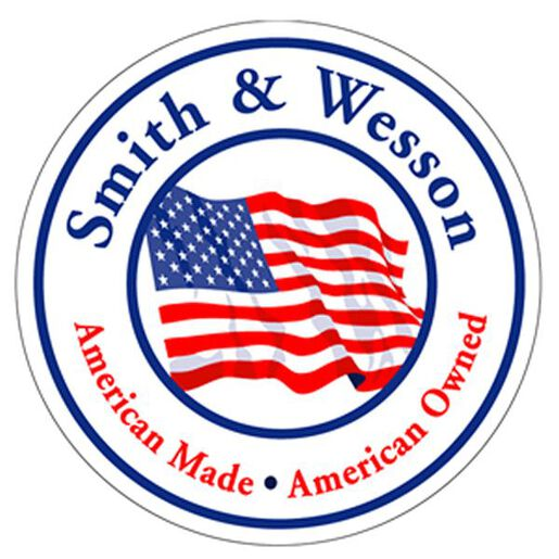 Smith & Wesson® Amer Made/Amer Owned 4 Inch Decal