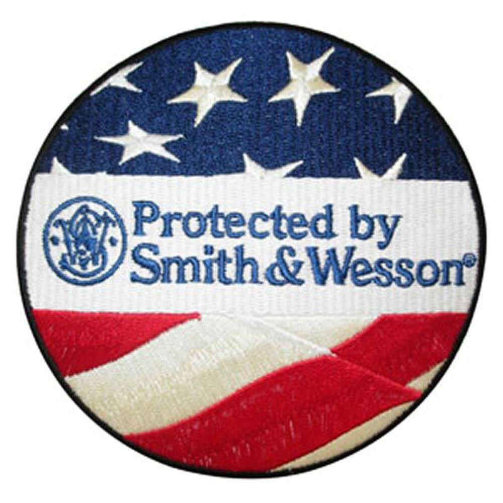 Protected By Smith & Wesson® Patch