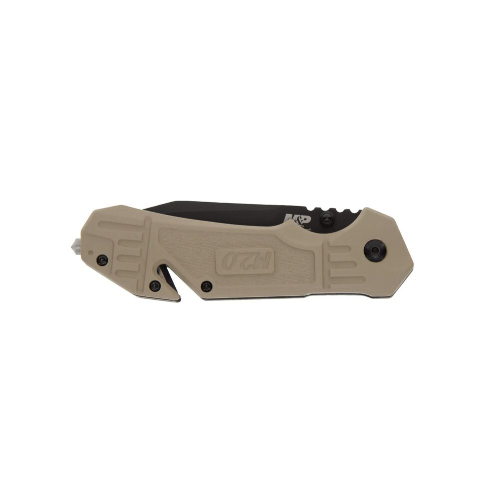 Smith & Wesson® M&P® 1100076 M2.0® S.A. FDE Tanto Folding Knife