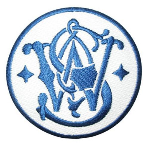 Smith & Wesson® Blue/White Logo Patch