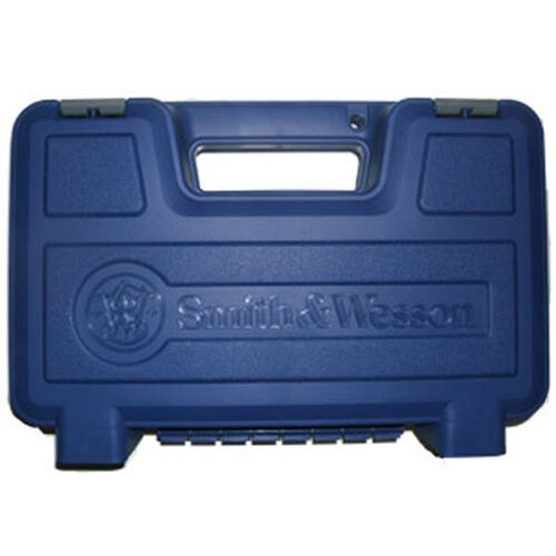 Blue Plastic Handgun Case