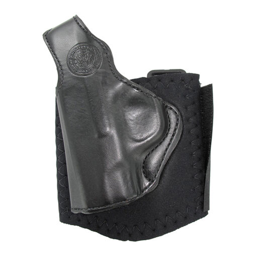 LH M&P® Shield Black Leather Ankle Holster