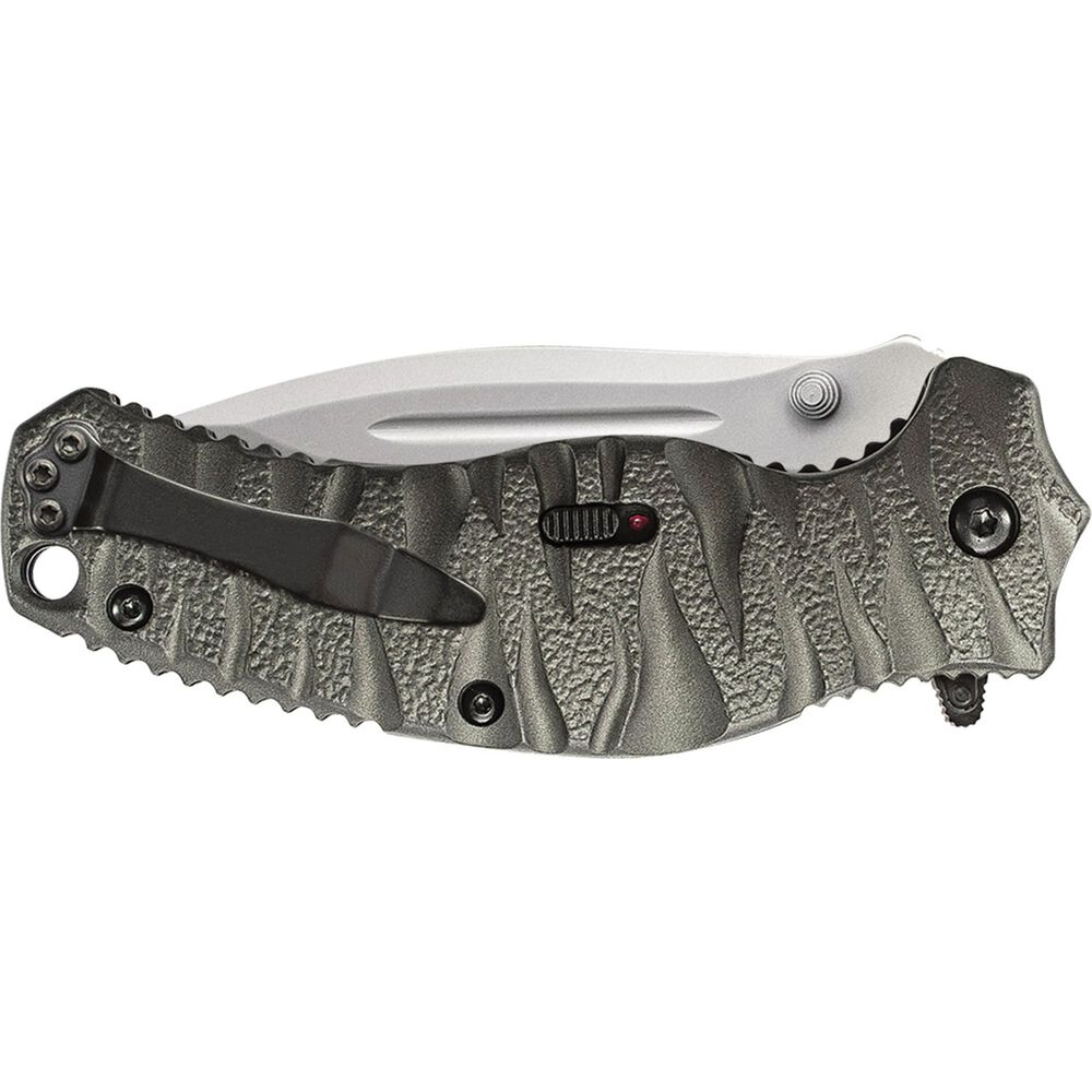 Smith & Wesson® SWBLOP4 Black Ops M.A.G.I.C.® Assisted Opening Drop Point Folding Knife