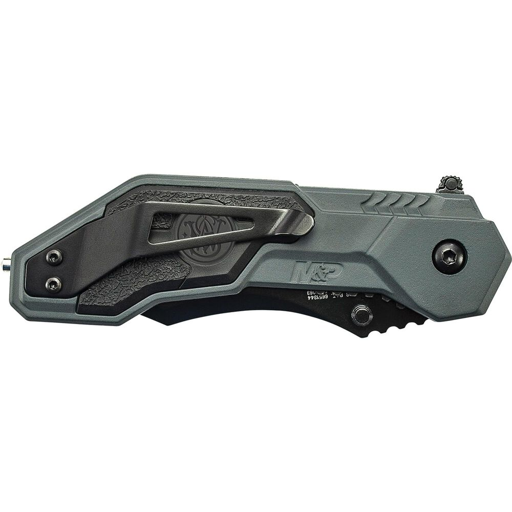 Smith & Wesson® M&P® SWMP1B M.A.G.I.C.® Assisted Opening Clip Point Folding Knife