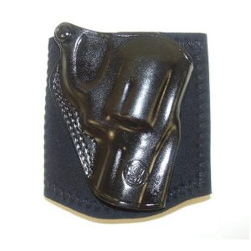 "RH J Frame 2-1/8"" Black Leather Ankle Holster"