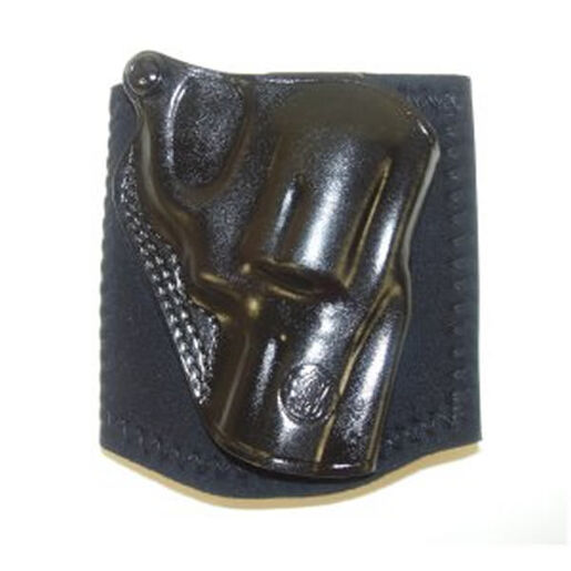 "RH J Frame 2-1/8"" Black Leather Ankle Holster"
