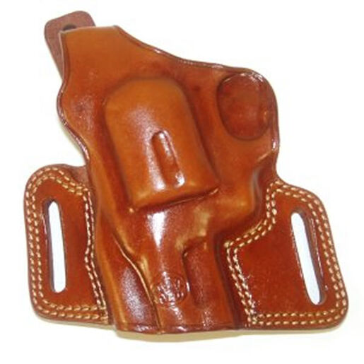 LH N-Frame Tan Leather Silhouette Holster