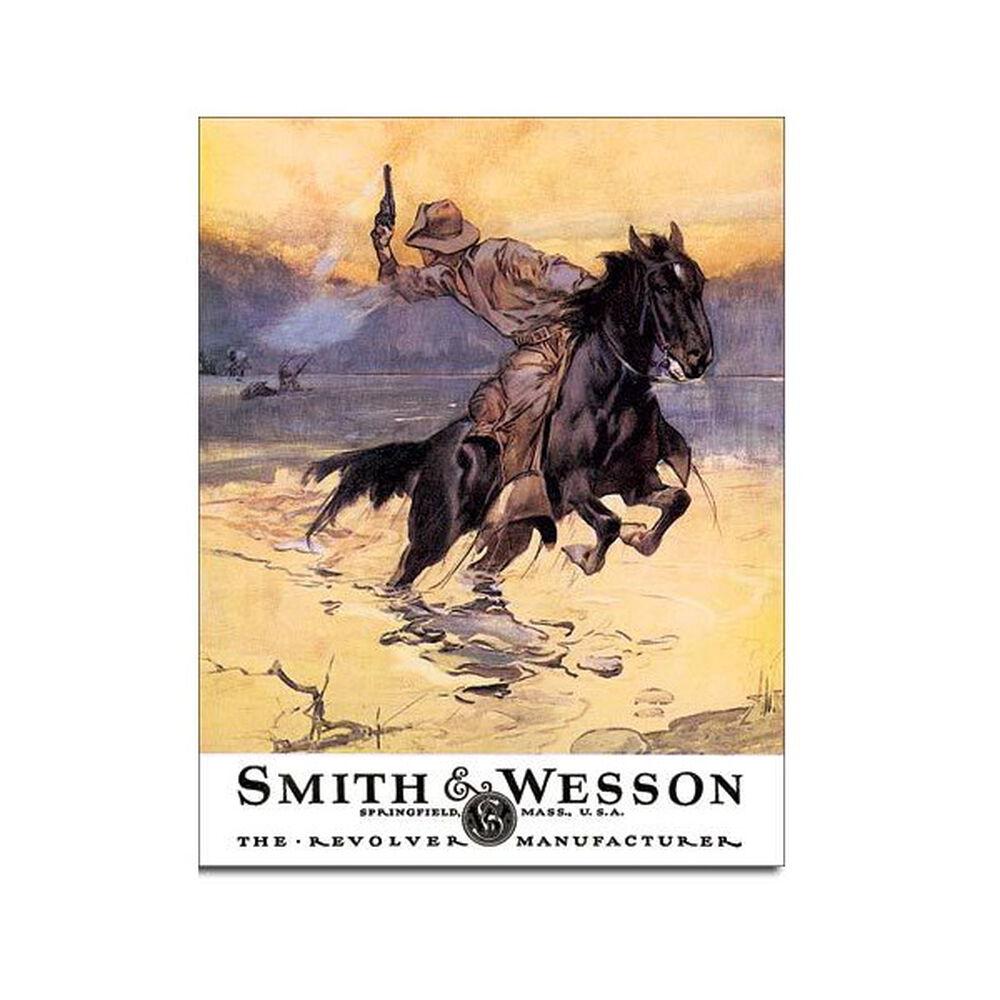 Smith & Wesson Tin Sign - Hostiles