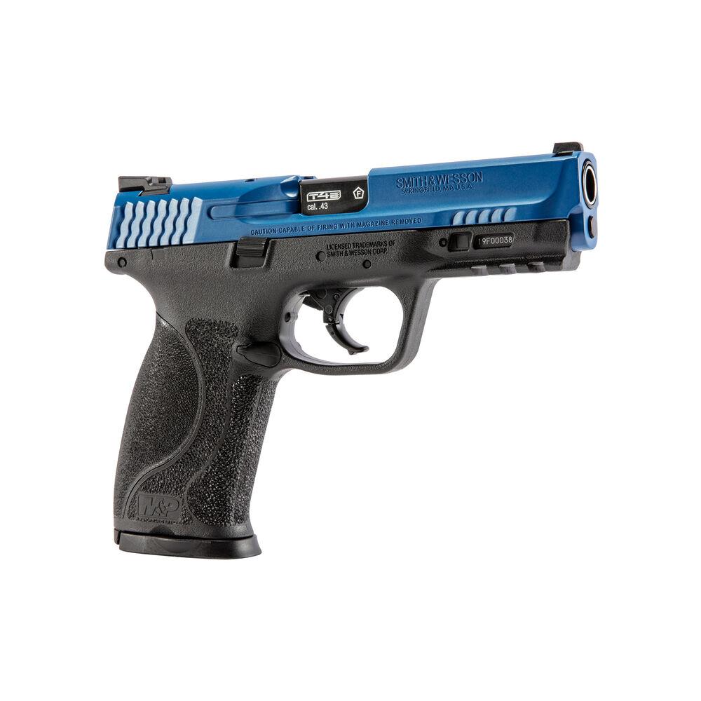 T4E S&W M&P9 M2.0 LE Blue/Black .43 Cal 8RD CO2 [Paintball Training Pistol]