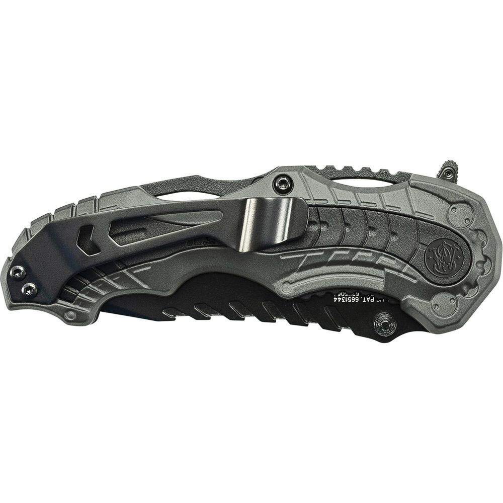 Smith & Wesson® M&P® SWMP6 M.A.G.I.C.® Assisted Opening Clip Point Folding Knife